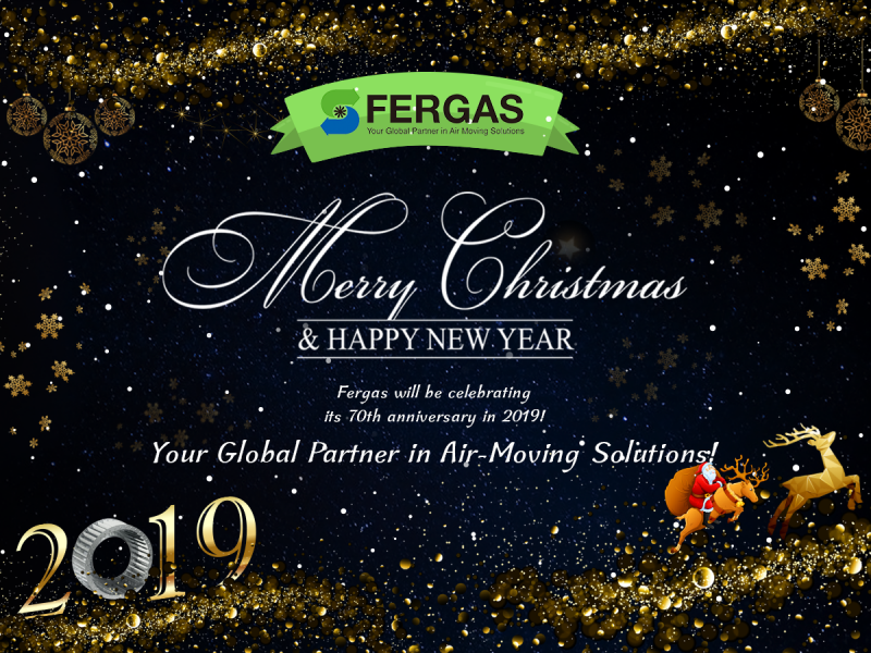 Merry Christmas and a Happy New Year from the global Fergas team!